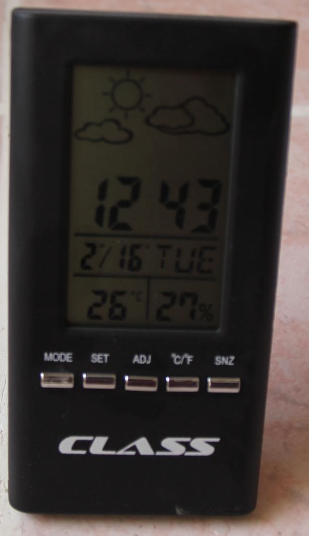 Sıcaklık ve Nem Ölçer